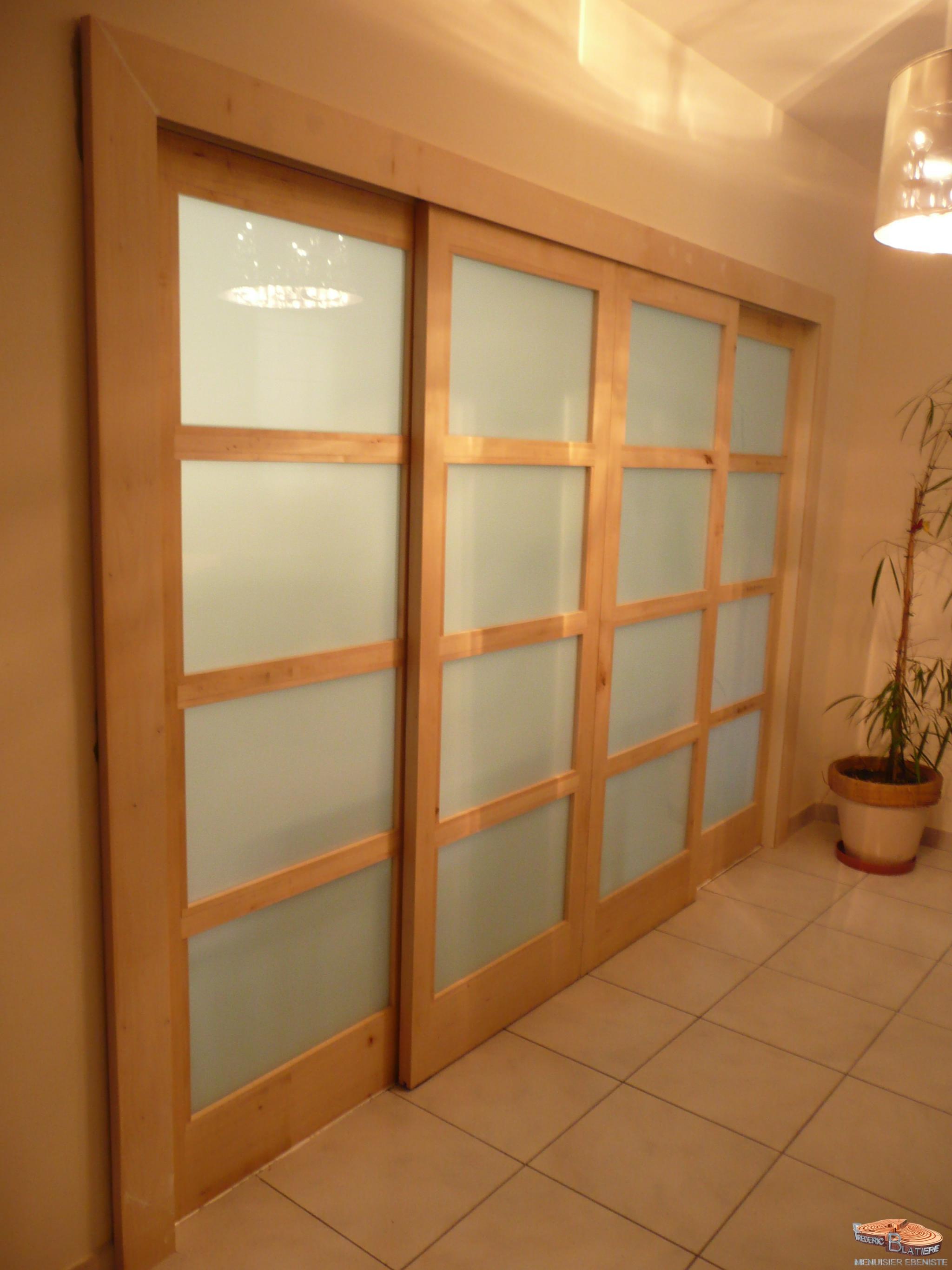 Advisable porte interieure grande largeur choices - Habillage de porte interieure ...