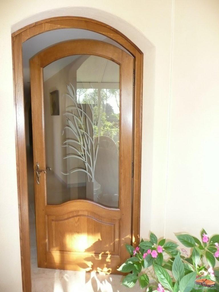 Menuiserie fr d ric blatiere for Vitre pour porte interieure